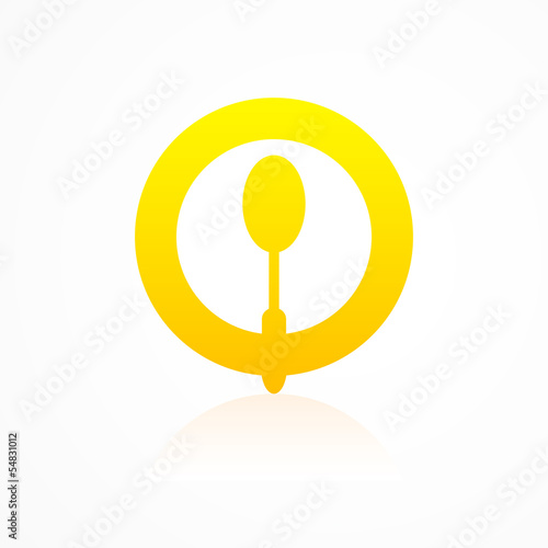 Kitchen icon tablespoon