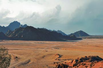 Египет, горы Синайской пустыни