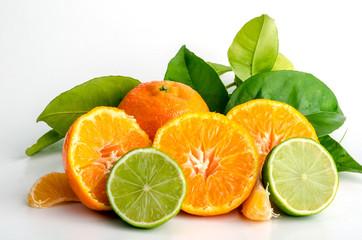 Vitaminreicher Genuss: Zitrusfrüchte, frisch geerntet :)
