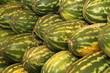 Wassermelonen auf dem Wochenmarkt