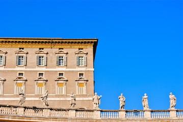 San Pietro - CIttà del Vaticano - Loggia Papa