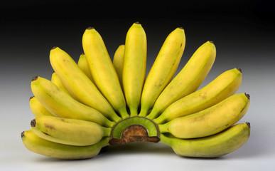 Bananas right off the banana tree.