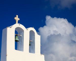 Small Greek Church Oia Santorini