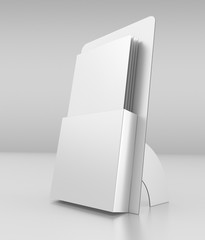 3D blank box display or stand