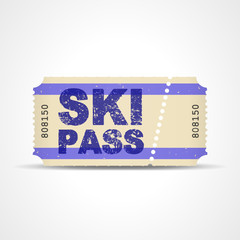 ticket v3 ski pass I