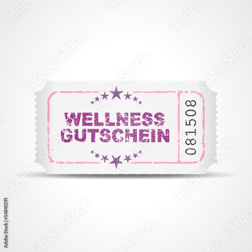 ticket v3 wellness gutschein I