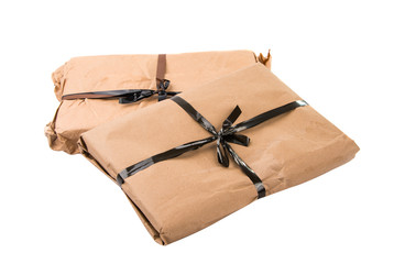 parcel isolated