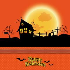 Halloween Karte Hintergrund