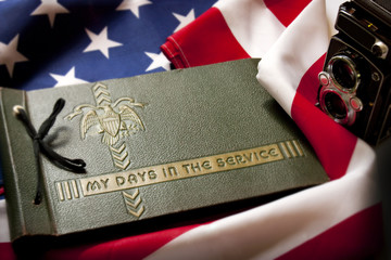 Memorial Day Veteran's Remembrance with Military Service album