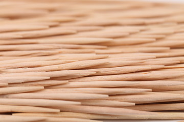 Toothpicks abstract composition. Horizontal.