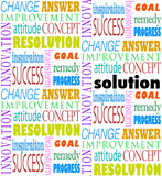 Solution Answer Goal Mission Word Background