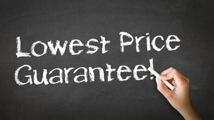 Lowest Price Guarantee Chalk Illustration
