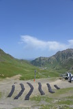 View from col du Tourmalet