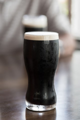 A refreshing glass of stout