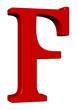 kırmızı f