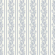 Seamless background with floral pattern and stripes. Vector.
