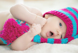 Beautiful funny baby