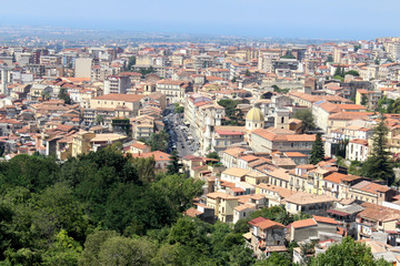 City Landscape, Calabria, South Italy