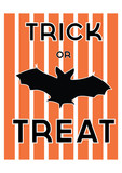 Retro Halloween Trick or Treat