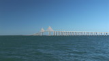 Sunshine Skyway Bridge near Tampa poster