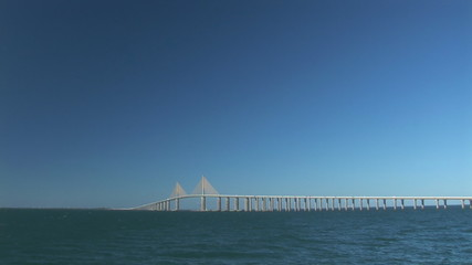 Sunshine Skyway Bridge near Tampa