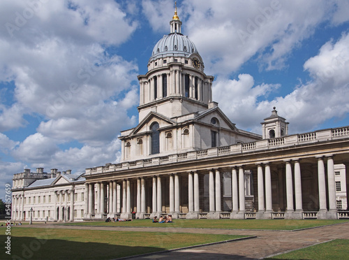 London, Greenwich, Royal Naval College