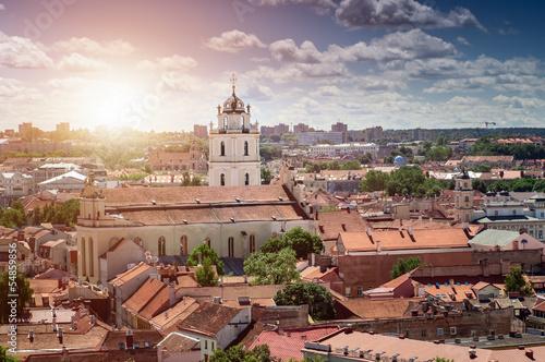 Foto op Plexiglas Bedehuis Vilnius Old Town, Lithuania