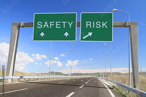 Safety or risk. Make a choice