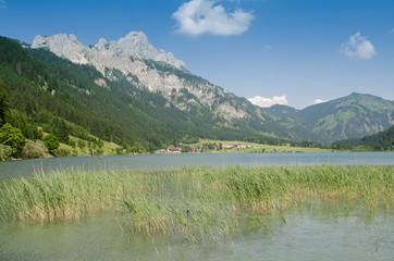 Haldensee und Berg