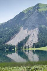 Bergrutsch am Berg