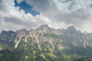 Berge Gimpfel und Rote Flüh im Tannheimer Tal