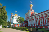 Inside the Novodevichy convent in Moscow