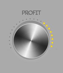 Profit controller knob