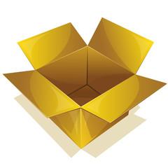 Empty yellow box