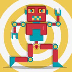 Retrobot Illustration