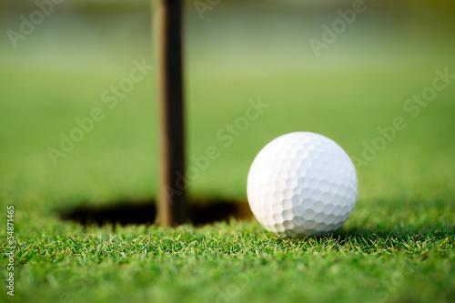 Plexiglas Extreme Sporten Golf hole