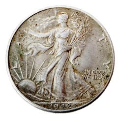 Walking Liberty Half Dollar - Heads Frontal