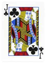 Playing Card - Jack of Clubs