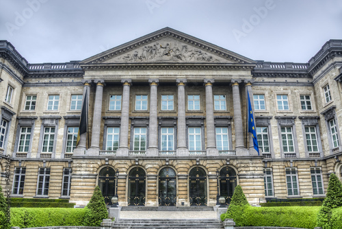 Federal Parliament in Brussels, Belgium