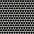 Metal mesh holes background