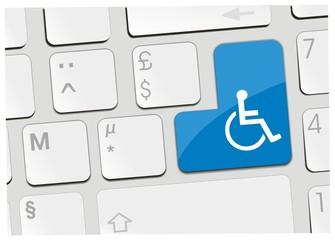 clavier fauteuil roulant