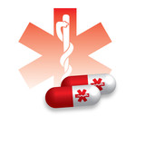 Healthcare Red Caduceus