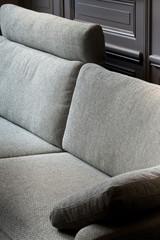 Canapé, tissu, meuble, style, mobilier, maison, confort