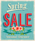 Vontage card - Spring Sale.