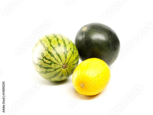 Wassermelonen und Honigmelone