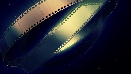 Films. Motion background