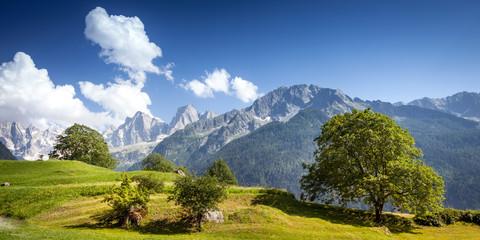 versante nord Pizzo Badile - Sciore - Cengalo
