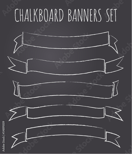 Chalkboard Banners Collection