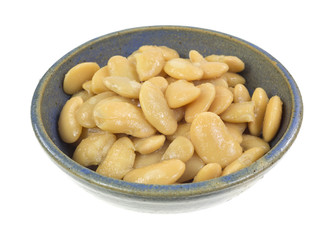 Butter beans in bowl