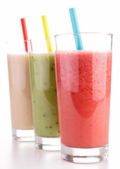 smoothies isolated